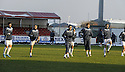 02/01/2010  Copyright  Pic : James Stewart.sct_jspa13_falkirk_v_st_johnstone  .:: FALKIRK PLAYERS TRAIN ON THE PARK AFTER THE GAME WAS CALLED OFF :: .James Stewart Photography 19 Carronlea Drive, Falkirk. FK2 8DN      Vat Reg No. 607 6932 25.Telephone      : +44 (0)1324 570291 .Mobile              : +44 (0)7721 416997.E-mail  :  jim@jspa.co.uk.If you require further information then contact Jim Stewart on any of the numbers above.........
