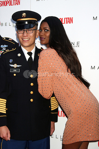 NEW YORK, NY - NOVEMBER 12: Model Jessica White attends  the Collect Kisses For The Troops Event with Cosmopolitan Magazine and Maybelline On Veterans Day at Times Square on November 12, 2012 in New York City. Credit RW/MediaPunch Inc.