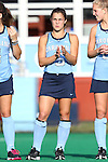 09 October 2015: North Carolina's Sam Night. The University of North Carolina Tar Heels hosted the Longwood University Lancers at Francis E. Henry Stadium in Chapel Hill, North Carolina in a 2015 NCAA Division I Field Hockey match. UNC won the game 8-1.