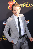 """11 July 2017 - Hollywood, California - Jedidiah Goodacre. Disney's """"Descendants 2"""" Los Angeles Premiere held at the ArcLight Cinerama Dome in Hollywood. Photo Credit: Birdie Thompson/AdMedia"""