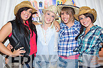 DANCE: Dressed up in their cowboy gear at the Ballyheigue Community centre in conjuction with the Ballyheigue Festival on Saturday night l-r: Katie Guinan, Alison O'Connor, Amy Kelly and Danielle Dennehy.