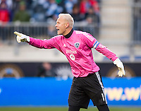 Jimmy Nielsen.  Sporting Kansas City defeated Philadelphia Union, 3-1. at PPL Park in Chester, PA.