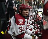 Brian Hart (Harvard - 39) - The Harvard University Crimson defeated the Princeton University Tigers 3-2 on Friday, January 31, 2014, at the Bright-Landry Hockey Center in Cambridge, Massachusetts.