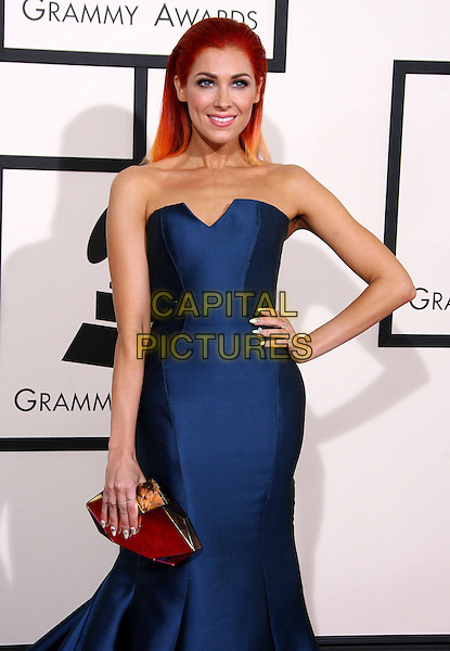 LOS ANGELES, CA - JANUARY 26 - Bonnie McKee. 56th GRAMMY Awards held at the Staples Center. <br /> CAP/ADM<br /> &copy;AdMedia/Capital Pictures
