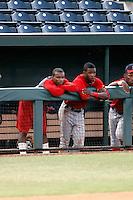 Chevez Clarke, Ryan Bolden - AZL Angels - 2010 Arizona League.Photo by:  Bill Mitchell/Four Seam Images..