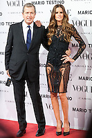 Mario Testino and Izabel Goulart at Vogue December Issue Mario Testino Party