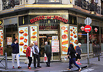 Museo del Jamon chain shop in Madrid city centre, Spain