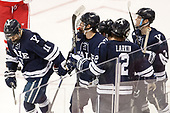 Andrew Gans (Yale - 11), ?, Adam Larkin (Yale - 2), Joe Snively (Yale - 7) The Boston University Terriers defeated the visiting Yale University Bulldogs 5-2 on Tuesday, December 13, 2016, at the Agganis Arena in Boston, Massachusetts.