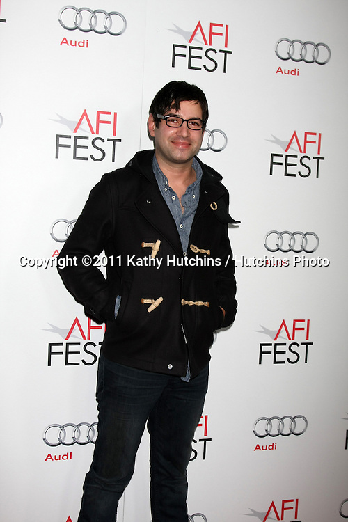 "LOS ANGELES - NOV 6:  Jason A. Micallef arrives at the ""Butter"" Screening at the AFI Fest 2011 at Grauman's Chinese Theater on November 6, 2011 in Los Angeles, CA"