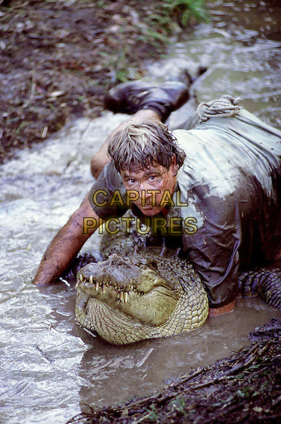 THE CROCODILE HUNTER: GRAHAM'S REVENGE .Pictured: Steve Irwin as The Crocodile Hunter .Filmstill - Editorial Use Only.Ref: FB.sales@capitalpictures.com.www.capitalpictures.com.Supplied by Capital Pictures.