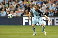 KANSAS CITY, KS - June 1, 2013:<br /> Oriol Rosell (20) midfield Sporting KC in action.<br /> Montreal Impact defeated Sporting Kansas City 2-1 at Sporting Park.