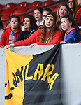 Clonlara fans during their Schools Division 1 final at Cusack Park. Photograph by John Kelly