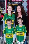 Gretta, Owen Luke and Bernadette McEvoy Churchill  at Puck Fair on Thursday