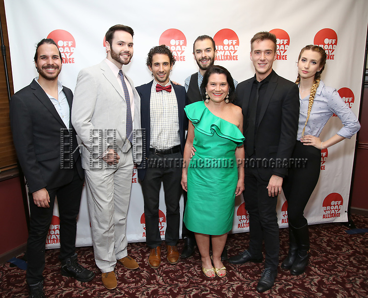 'The Commedia Cinderella' Family attends the 7th Annual Off Broadway Alliance Awards at Sardi's on June 20, 2017 in New York City.