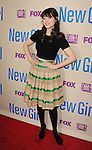 NORTH HOLLYWOOD, CA- APRIL 30: Actress Zooey Deschanel  attends the FOX's 'New Girl' special screening at Leonard H. Goldenson Theatre on April 30, 2013 in North Hollywood, California.