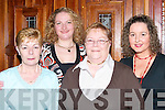 SMILES: Smiles by Anne McEvoy, Shirley McEvoy, Breda O'Sullivan and Karen Sweeney as they celebrated Womens Christmas at The Meadowlands Hotel, Tralee, on Saturday night.