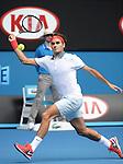 Roger Federer (SUI) defeats Teymuraz Gabishvili (RUS) 6-2, 6-2, 6-3