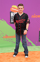 LOS ANGELES, CA July 13- Jet Jurgensmeyer, At Nickelodeon Kids' Choice Sports Awards 2017 at The Pauley Pavilion, California on July 13, 2017. Credit: Faye Sadou/MediaPunch