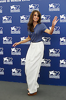 Silvia D'Amico attends a photocall for the movie 'Don't Be Bad' during the 72nd Venice Film Festival at the Palazzo Del Cinema in Venice, Italy, September 7, 2015.<br /> UPDATE IMAGES PRESS/Stephen Richie