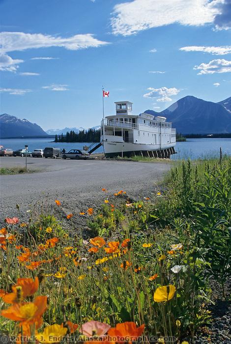 Tarahne Ferry, Atlin Lake, Atlin, BC, Canada