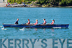 Poetry in Motion the Sneem Senior Ladies crew who got off to poor start but quickly made up lost ground and finished in first place at the Sive Regatta on Sunday.