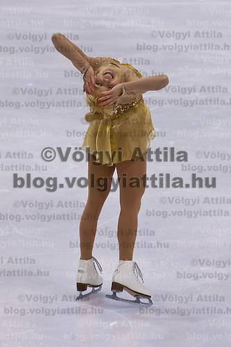 Viktoria Pavuk performs during the figure skating national championships held in Budapest's Practice Ice Center. Budapest, Hungary. Sunday, 09. January 2011. ATTILA VOLGYI
