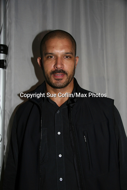 One Life To Live's Terrell Tilford at the 2009 Daytime Stars and Strikes to benefit the American Cancer Society on October 11, 2009 at the Port Authority Leisure Lanes, New York City, New York. (Photo by Sue Coflin/Max Photos)