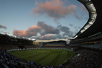 GV General view. Pakistan tour of New Zealand. T20 Series. 2nd Twenty20 international cricket match, Eden Park, Auckland, New Zealand. Thursday 25 January 2018. © Copyright Photo: Shane Wenzlick / www.Photosport.nz