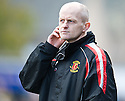 Annan manager Harry Cairney
