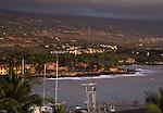 Kailua Kona at sunset
