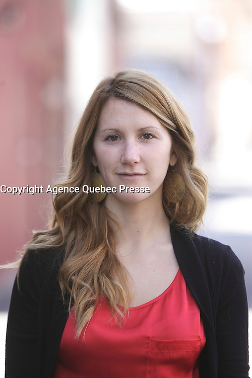 Montreal (Qc) CANADA - April 2,2012 - EXCLUSIVE file photo - Amylie