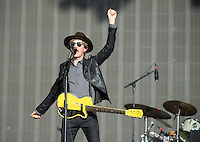 Beck Hansen (Beck) performs during British Summertime Music Festival at Hyde Park, London, England on 18 June 2015. Photo by Andy Rowland.