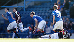 Lee McCulloch leaves Osman Sow crumpled on the deck