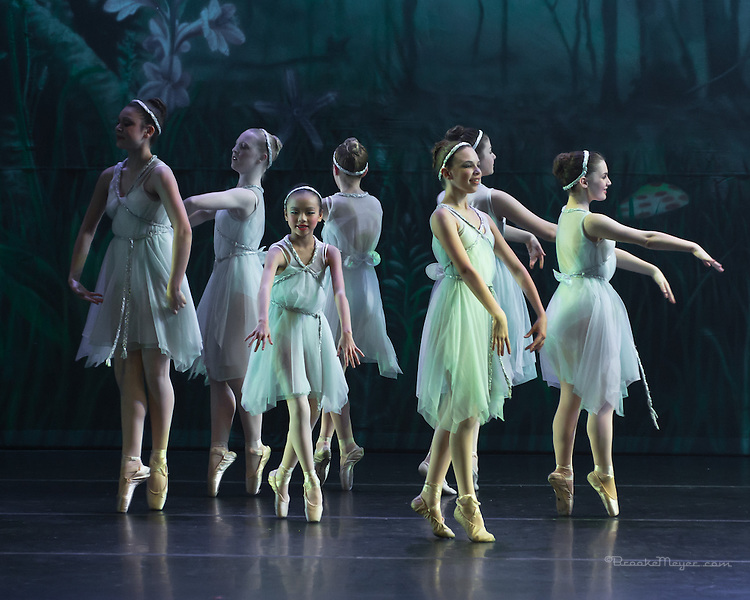 """Tales of An Athenian Forest"" Cary Ballet Company's 16th Annual Spring Gala, Saturday 7 PM Performance, 16 March 2013, Cary Arts Center."