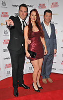 Ben Pickering, Eloise Dale and Darren Ripley at the &quot;Welcome To Curiosity&quot; UK film premiere, Prince Charles Cinema, Leicester Place, London, England, UK, on Monday 04 June 2018.<br /> CAP/CAN<br /> &copy;CAN/Capital Pictures