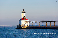64795-02914 Michigan City Lighthouse & Pier Michigan City, MI