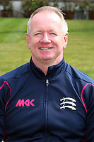 Head Coach Richard Scott - Middlesex County Cricket Club Press Day at Lords Cricket Ground, London - 08/04/13 - MANDATORY CREDIT: Rob Newell/TGSPHOTO - Self billing applies where appropriate - 0845 094 6026 - contact@tgsphoto.co.uk - NO UNPAID USE.