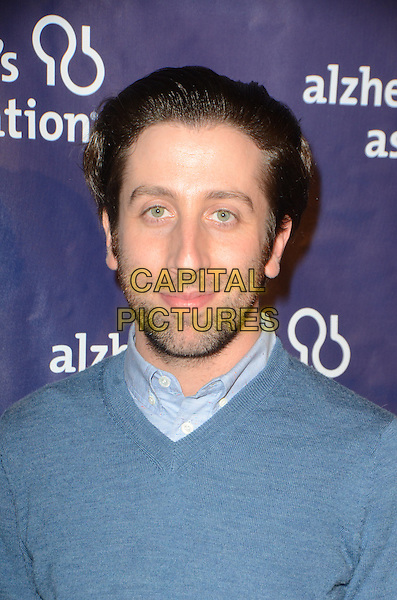 BEVERLY HILLS, CA: MARCH 9: Simon Helberg at the 24th and final 'A Night at Sardi's' to benefit the Alzheimer's Association at The Beverly Hilton Hotel on March 9, 2016 in Beverly Hills, California. <br /> CAP/MPI/DE<br /> &copy;DE//MPI/Capital Pictures