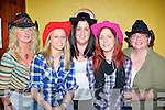 Enjoying the Country and Western night in aid of Special Olympics in Kearney's bar Castleisland on Friday night was l-r: Angela Cahill, Noelle Scanlon, Roseleen Higgins, Sharon Twomey and Breda O'Donoghue....