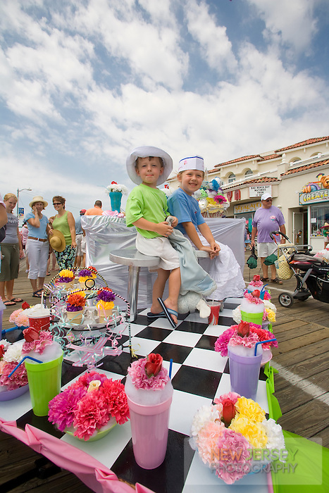 Baby Parade, Ocean City boardwalk, New Jersey