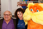 LOS ANGELES, CA - FEB 19: Danny DeVito; Rhea Perlman at the 'Dr. Suess' The Lorax' premiere at Universal Studios Hollywood on February 19, 2012 in Los Angeles, California