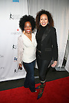 Rhonda Ross and Law & Order Actress and Producer Tamara Tunie The 2013 Skating with the Stars honoring B Michael and Andrea Joyce -A benefit gala for Figure Skating in Harlem Held At Trump Rink, Central Park, NY