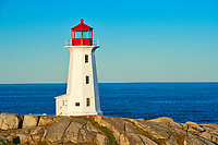 Peggy's COve lighthouse, Peggy's Cove, Nova Scotia, Canada