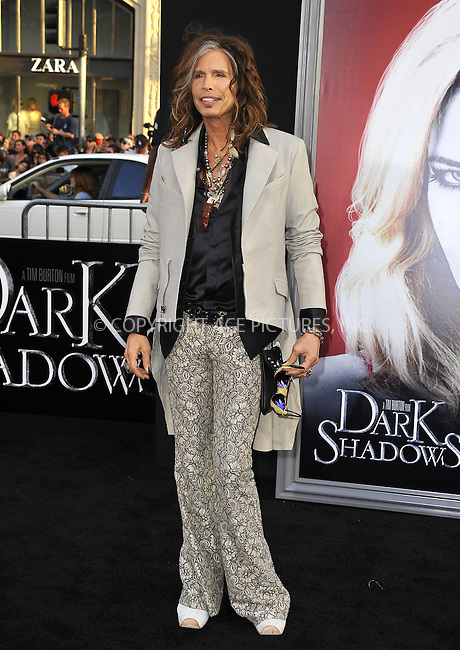 WWW.ACEPIXS.COM . . . . .  ....May 7 2012, LA....Steven Tyler arriving at the premiere of 'Dark Shadows' at Grauman's Chinese Theatre on May 7, 2012 in Hollywood, California.....Please byline: PETER WEST - ACE PICTURES.... *** ***..Ace Pictures, Inc:  ..Philip Vaughan (212) 243-8787 or (646) 769 0430..e-mail: info@acepixs.com..web: http://www.acepixs.com