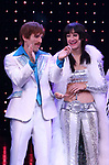 Jarrod Spector and Micaela Diamond during the Broadway Opening Night Curtain Call of 'The Cher Show'  at Neil Simon Theatre on December 3, 2018 in New York City.