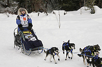 Rohn Buser Willow restart Iditarod 2008.