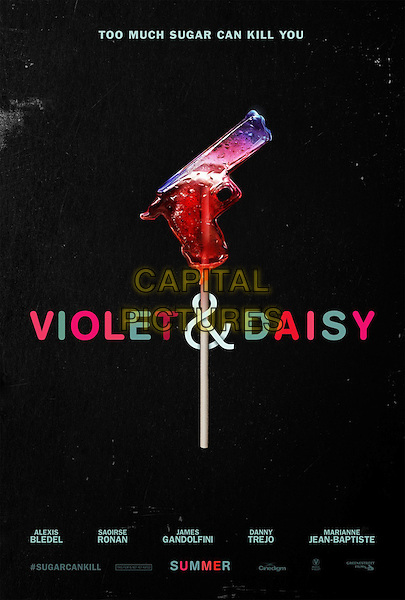 POSTER ART<br /> in Violet &amp; Daisy (2011)<br /> *Filmstill - Editorial Use Only*<br /> CAP/FB<br /> Image supplied by Capital Pictures