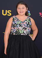 "HOLLYWOOD- SEPTEMBER 26: Mackenzie Hancsicsak at the premiere of NBC's ""This Is Us"" Season 2 at NeueHouse Hollywood on September 26, 2017 in Hollywood, California. (Photo by Scott Kirkland/PictureGroup)"
