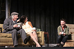 Jarlath Conroy, Felicity Jones & Sebastian Naskaris star in Harold Pinter's The Homecoming at Centerstage, Baltimore, Maryland. Dress Rehearsal - January 27, 2011. (Photos by Sue Coflin/Max Photos)