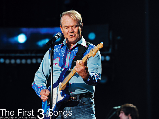 Glen Campbell performs at LP Field during the 2012 CMA Music Festival on June 07, 2011 in Nashville, Tennessee.